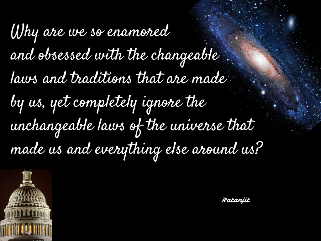 """Why are we so enamored and