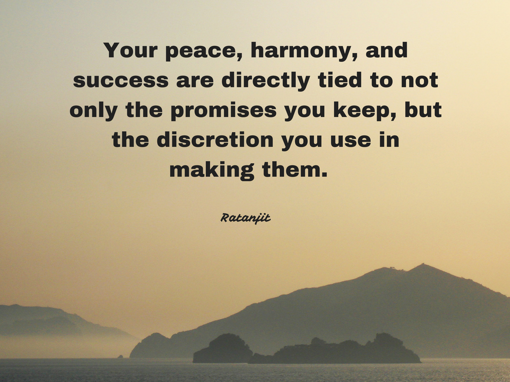 """Your peace, harmony, and