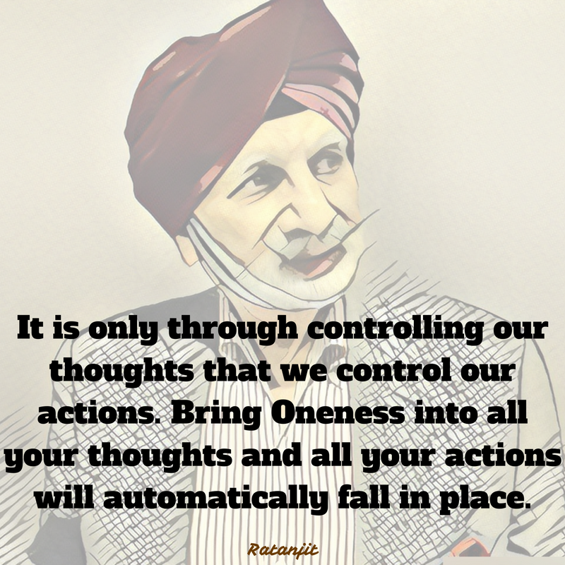 """It is only through controlling