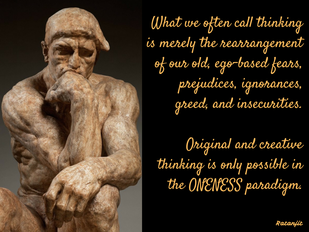 """What we often call thinking