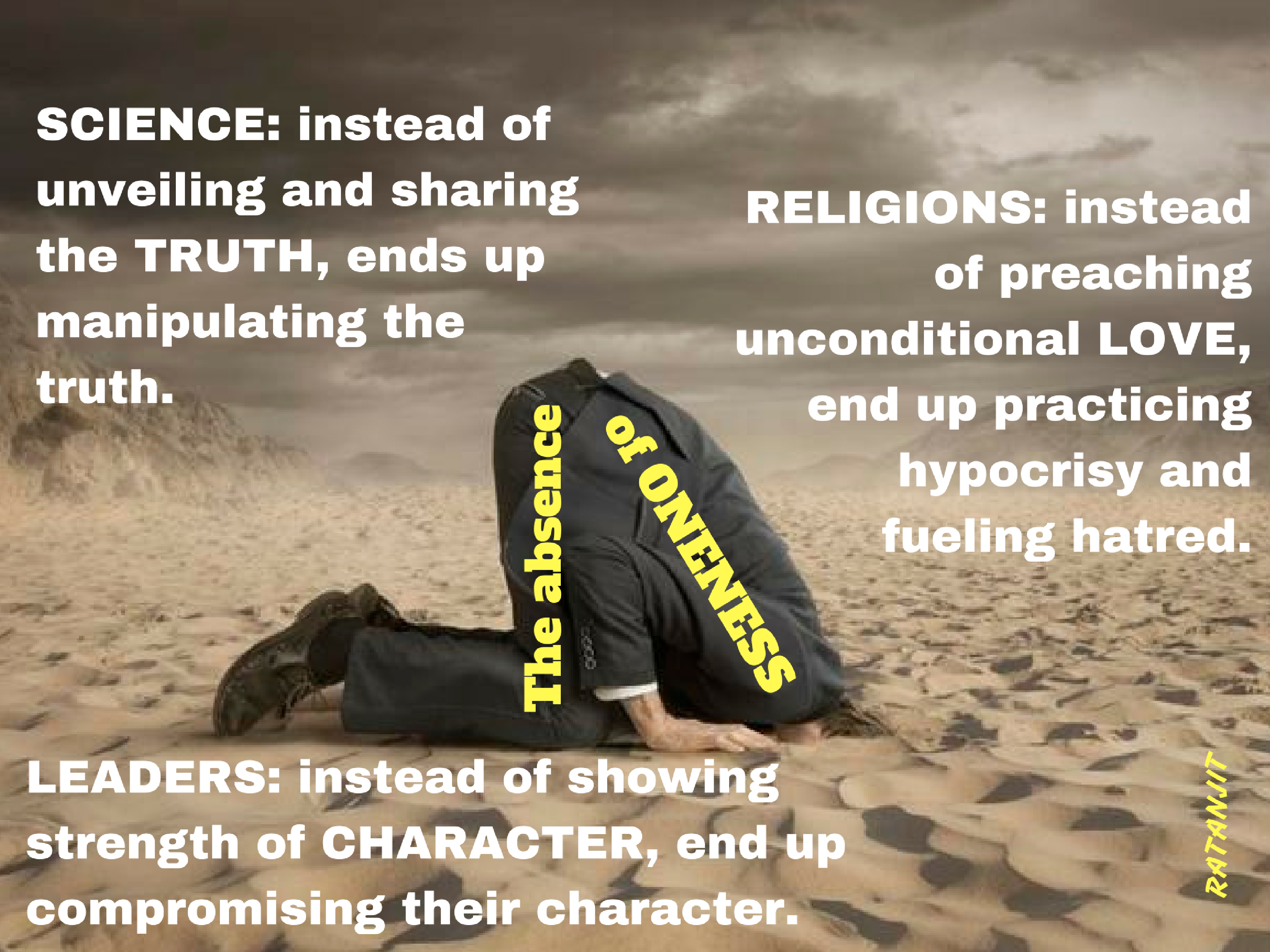 """SCIENCE: instead of