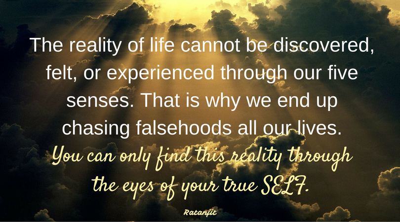 """The reality of life cannot