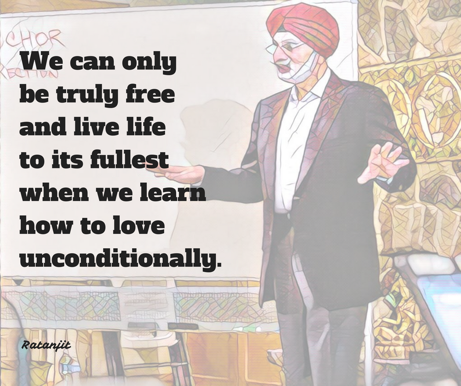 """We can only be truly free