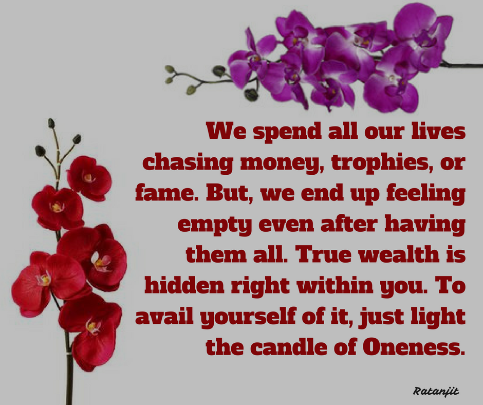 """We spend all our lives