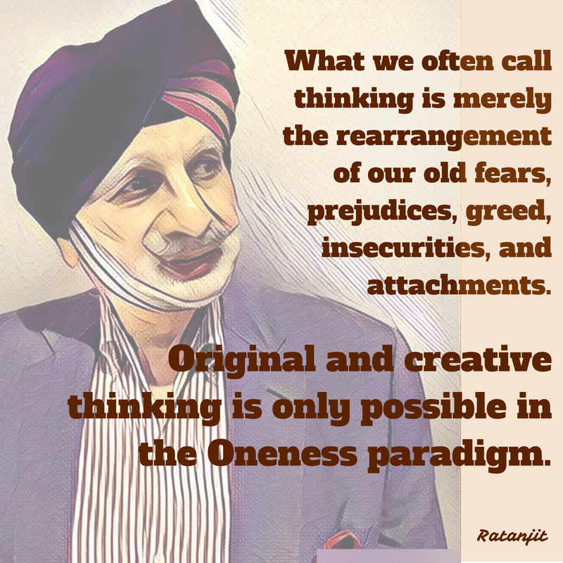"""What we often call thinking is