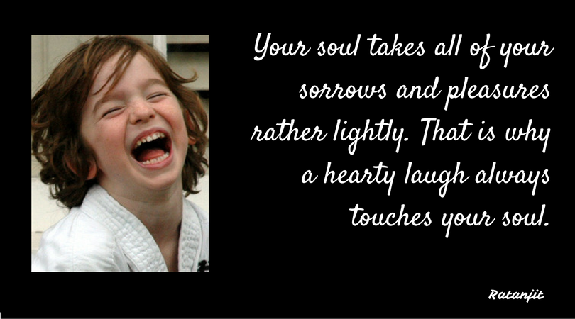 """Your soul takes all of your