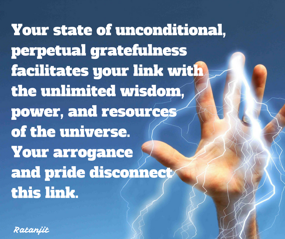 """Your state of unconditional,